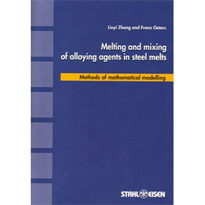 Melting and mixing of alloying agents in steel melts