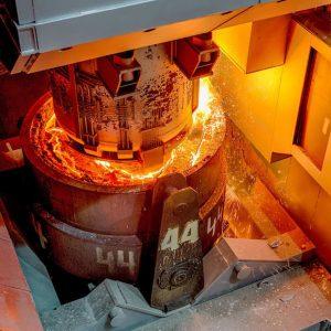 Anlage für Sekundärmetallurgie