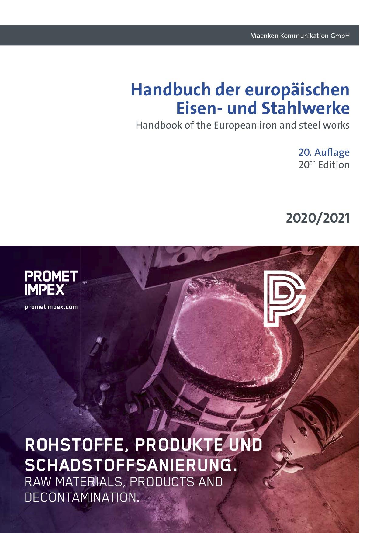 Handbuch der europäischen Eisen- und Stahlwerke 20. Auflage