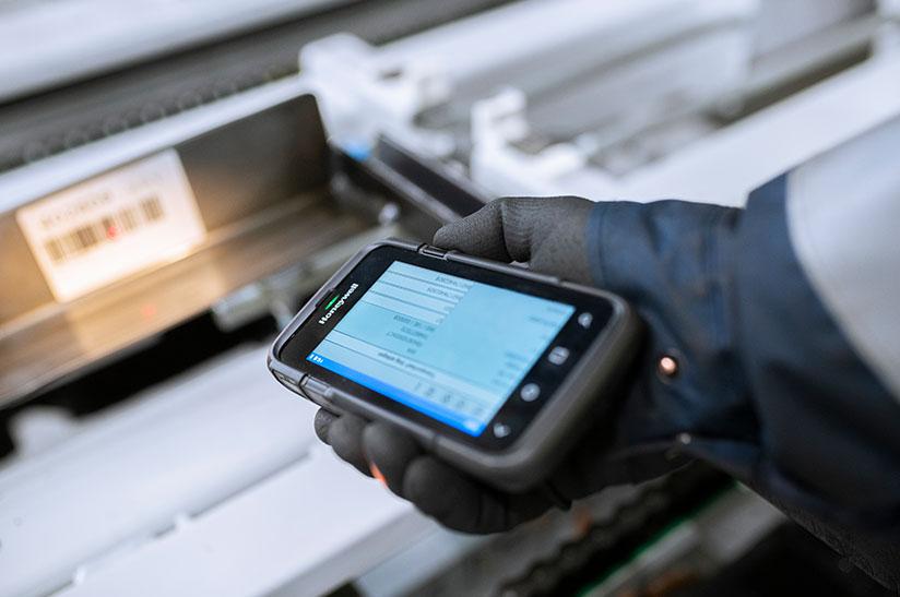 Digitale Lösung im neuen Logistik-Zentrum von Thyssenkrupp Materials Services